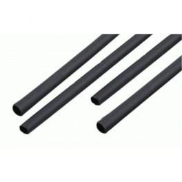Zmršťovacie bužírky 10mm čierne 1m