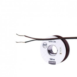 Dvojlinka ECO 2x0,5mm, černo/červená