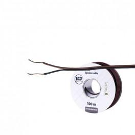Dvojlinka ECO 2x0,75mm, čierno/červená