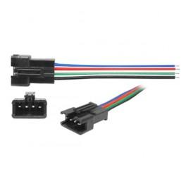 LED konektor s kábl. pre RGB pásy - kolík