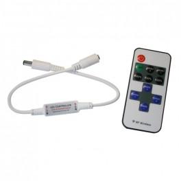 LED kontroler / stmievač pre jednu farbu, RF OLP02