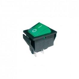 Prepínač kolískový 2pol./4pin ON-OFF 250V/15A pros