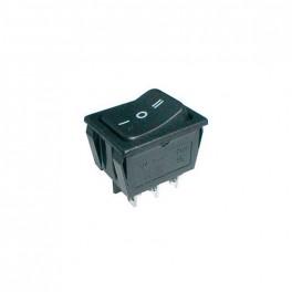 Prepínač kolískový 3pol./6pin ON-OFF-ON 250V/15A