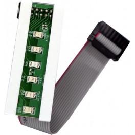 LR-6 panel LED ALARM
