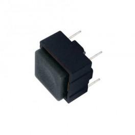 Prepínač tlačítko štv. OFF-(ON) 12V čierny