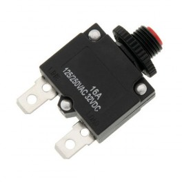Termobimetalický vypínač MR1 16A