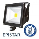 LED reflektor vonkajší s PIR 50W/4000lm EPISTAR