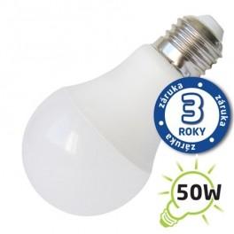 Žiarovka LED A60 E27 7W biela teplá