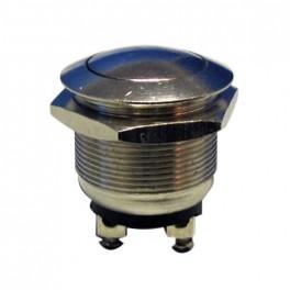 Prepínač tlačítko okr. OFF-(ON) kov-typ1 (12V)