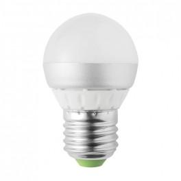 Žiarovka LED G45 E27 4W biela teplá RETLUX