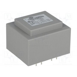 Transformátor: zaliaty; 4,5VA; 230VAC; 15V; 0,15A