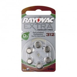Batéria do naslúchadiel RAYOVAC H312MF