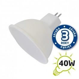 Žiarovka LED SPOT MR16 5W biela teplá TIPA