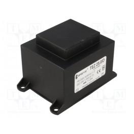Transformátor: zaliaty; 25VA; 230VAC; 24V