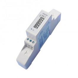 Elektromer 1F na DIN lištu jednofázový 120D, digit