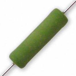 Rezistor: drôtový; vysokonapäťové; THT; 100R; 2W
