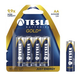 TESLA Battery1.5V2700 mAh (4 pcs)-LR06,AA,Alkaline