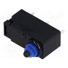 Mikrospínač; bez páčky; SPDT; 0,1A/125VAC; 2A/12VD