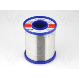 Spájka; Sn60Pb40; drôt; 1mm; 1kg; Tavivo: F-SW26,N