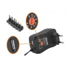NAP.ZDROJ S REG. 2500MA 3V-12V USB LEXTON