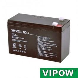 Batérie olovená 12V / 7Ah VIPOW (7,5Ah) bezúdržbov