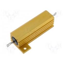 Rezistor: drôtový; s chladičom; priskrutkovaním; 2