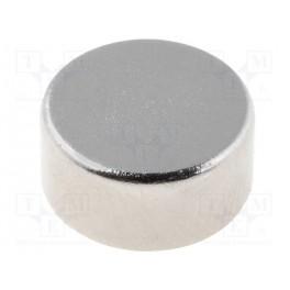 Magnet: konštantný; neodymový; Ø10x5mm; NdFeB; 350