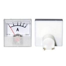 Analogový merací prístroj mini- ampérmeter , rozsa