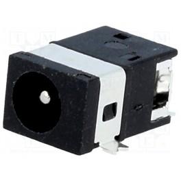 Zásuvka; napájacie DC; vidlica; 3,5/1,3mm; 3,5mm;