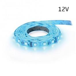 LED pás 12V 3528 60LED / m IP20 max. 4.8W / m modr