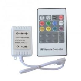 Ovladač pro Led pásek 12/24V - RGB kontroler pro L
