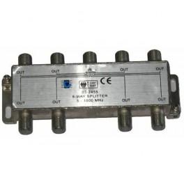 """RO020 Rozbočovač """"F"""" vstup - 8x výstup 5-1000MHz"""
