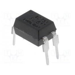 Optočlen; THT; Kanály:1; Výst: tranzistorové; Uizo