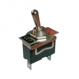 Prepínač prepínača 2pol./2pin ON-OFF 250V / 10A