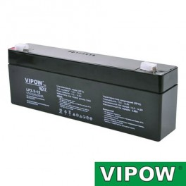 Olovnatá batéria 12V / 2.2Ah VIPOW bezúdržbová bat