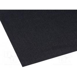 Akustická tkanina; 1,4x0,7m; čierna