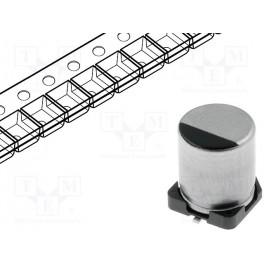 Kondenzátor: elektrolytický; s nízkou impedanciou;