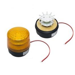 Signalizátor LED 12V oranžový