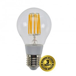 Žiarovka LED A60 E27 8W retro Solight