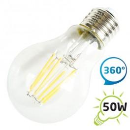 Žárovka LED A60 E27 6W retro bílá teplá