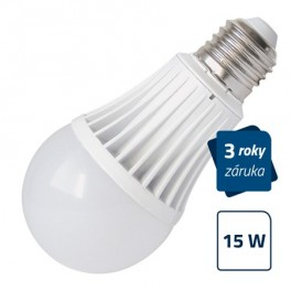 LED žiarovka Geti A60, E27, 15W, neutrálna biela