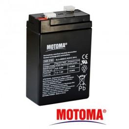 Batérie olovená 6V / 2,8Ah MOTOMA bezúdržbový akum