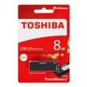 USB KĽÚČ 8GB 3.0 U302 TOSHIBA ČIERNY