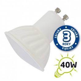 Žiarovka LED SPOT GU10 5W bielá teplá