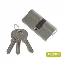 Vložka cylindrická poniklovaná, 65mm, 3x kľúč,