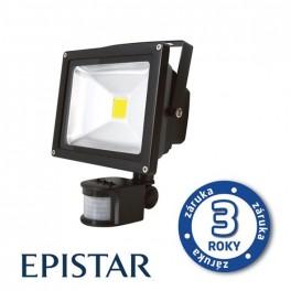 LED reflektor vonkajší s PIR 10W