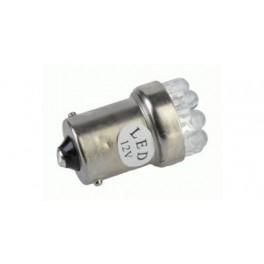 Autožiarovka 12V G18, 5-9 LED/1156 biela 2ks