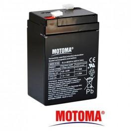 Olovená batéria- gélová 6V 4,5Ah