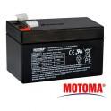 Olovená batéria- gélová 12V 1,2Ah