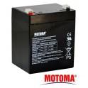 Olovená batéria- gélová 12V 4,5Ah